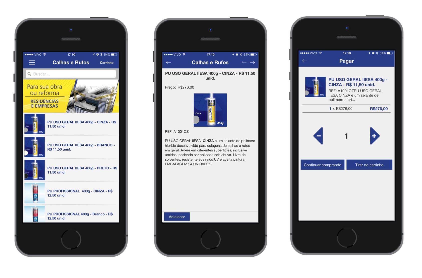 Castwork - Aplicativo IIESA